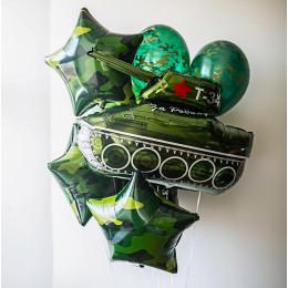 Букет воздушных шаров Для защитника