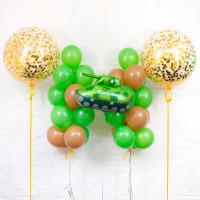 Сет воздушных шаров для мужчины на 23 февраля