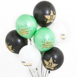 Воздушные шары С Днём защитника Отечества - дополнительное фото #1