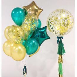 Сет воздушных шариков в подарок любимому мужчине