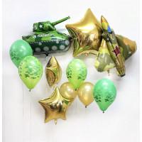 Сет из шариков военной тематики