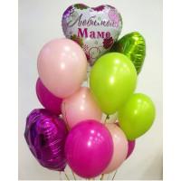 Букет воздушных шариков Для мамы
