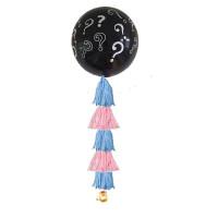 Воздушный шар-сюрприз с конфетти и маленькими шариками внутри