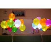 Воздушные шары светящиеся, разноцветные - дополнительное фото #1