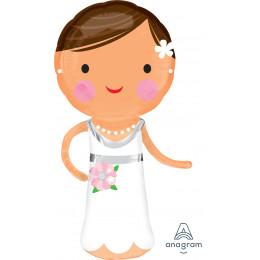 Фигурный шар Прекрасная невеста