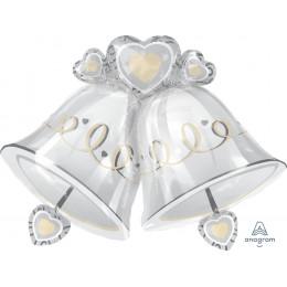 Фигурный шар Свадебные колокольчики