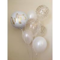 Букет шариков на свадьбу для невесты