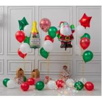 Набор шаров для новогодней фотосессии