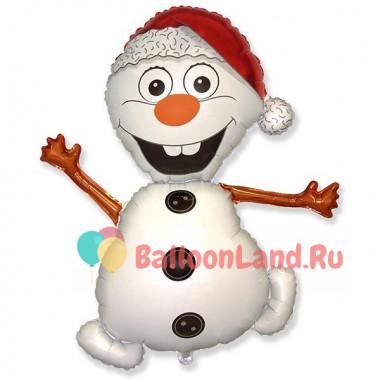 Фигурный шар Бешенный Снеговик