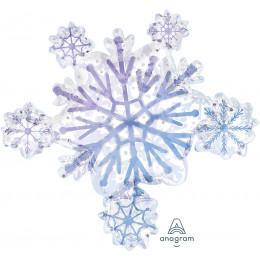 Фигурный шар Снежинка