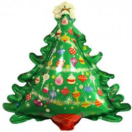 Фигурный шар Праздничная Ёлка