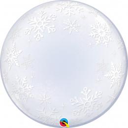 Шар-пузырь Снежинки
