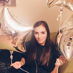 Клиент Александра с шариками