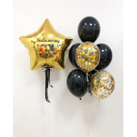Набор воздушных шаров для папы с вашей надписью