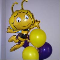 Букет воздушных шаров Пчёлка Майя
