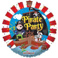 Шар-круг Пиратская вечеринка ( корабль)