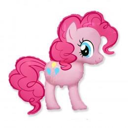 Фигурный шар розовая Пинки Пай