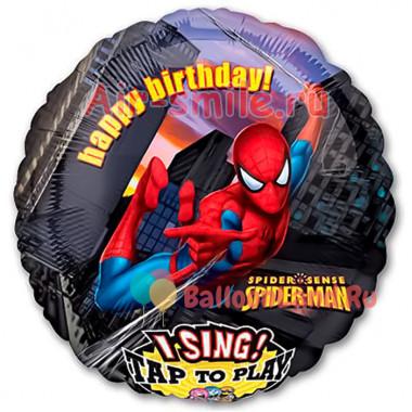 Поющий шар 'Человек паук'