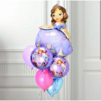Сет из шариков с Софией Прекрасной с сердцем