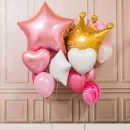 Композиция из воздушных шаров Принцесса
