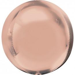 Шарик-сфера Розовое золото