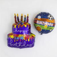 Шар-круг Спортивные мячи, Happy birthday to you - дополнительное фото #1