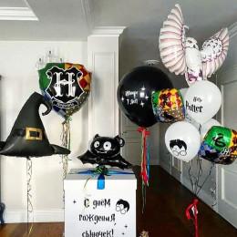 Набор с коробкой-сюрприз и волшебной шляпой из Гарри Поттера