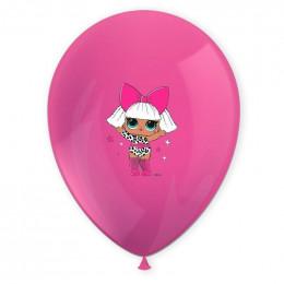 Шары Куклы Лол, цветные - дополнительное фото #3