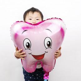 Фигурный шар Зубик, розовый - дополнительное фото #1