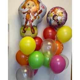 Сет из шаров с героями мультика Сказочный патруль