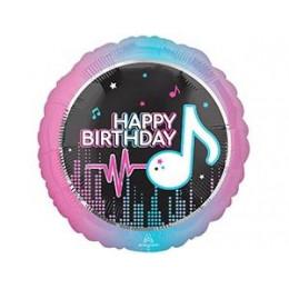 Шар-круг Тик-ток, Happy birthday