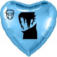 Шар-сердце Тайна аниме, голубое