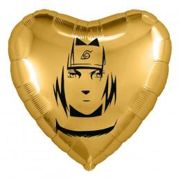Шар-сердце Лучший парень, анимешка, золотое