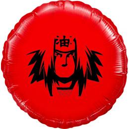 Шар-круг Герой анимешки, красный