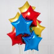 Шар-звезда Красная (45см) - дополнительное фото #1