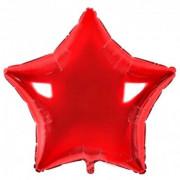Шар-звезда Красная (45см)