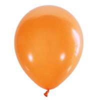 Воздушные гелиевые шары оранжевые