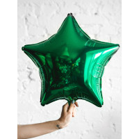 Шар-звезда Зеленый - дополнительное фото #1
