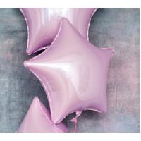 Шар-звезда Нежно-розовый - дополнительное фото #1