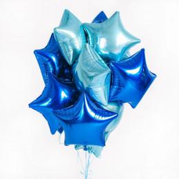 Шар-звезда Синий - дополнительное фото #2