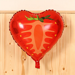Шар-сердце Клубника - дополнительное фото #1
