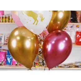 Фонтан из шаров Золотой единорог - дополнительное фото #2