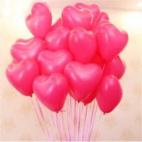 Шары Розовые сердца - дополнительное фото #1