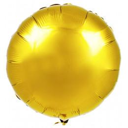 Шар-круг золотой