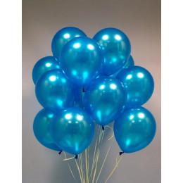 Шары Синие Металик - дополнительное фото #1