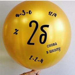 Большой шар с надписью на 1 сентября - дополнительное фото #4