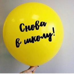 Большой шар с надписью на 1 сентября - дополнительное фото #1