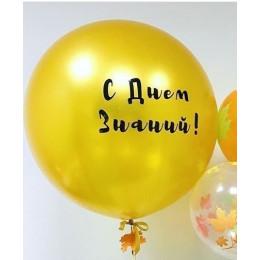 Большой шар с надписью на 1 сентября - дополнительное фото #2
