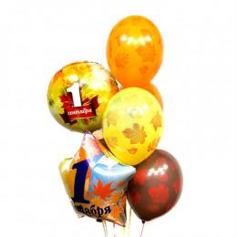 Фонтан из шаров на 1 сентября