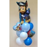 Букет шаров Щенячий патруль для мальчика